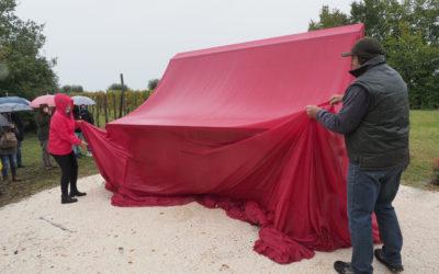Inaugurazione panchina gigante - La Guarda