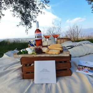 Pic nic in vigna - La Guarda