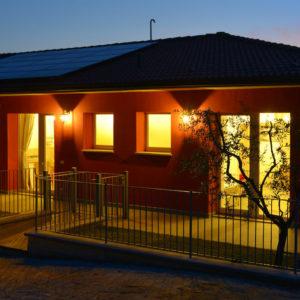 La Guarda - Agriturismo in cantina -Appartamenti - Sera