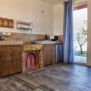 Cucina - Appartamento Acqua - La Guarda